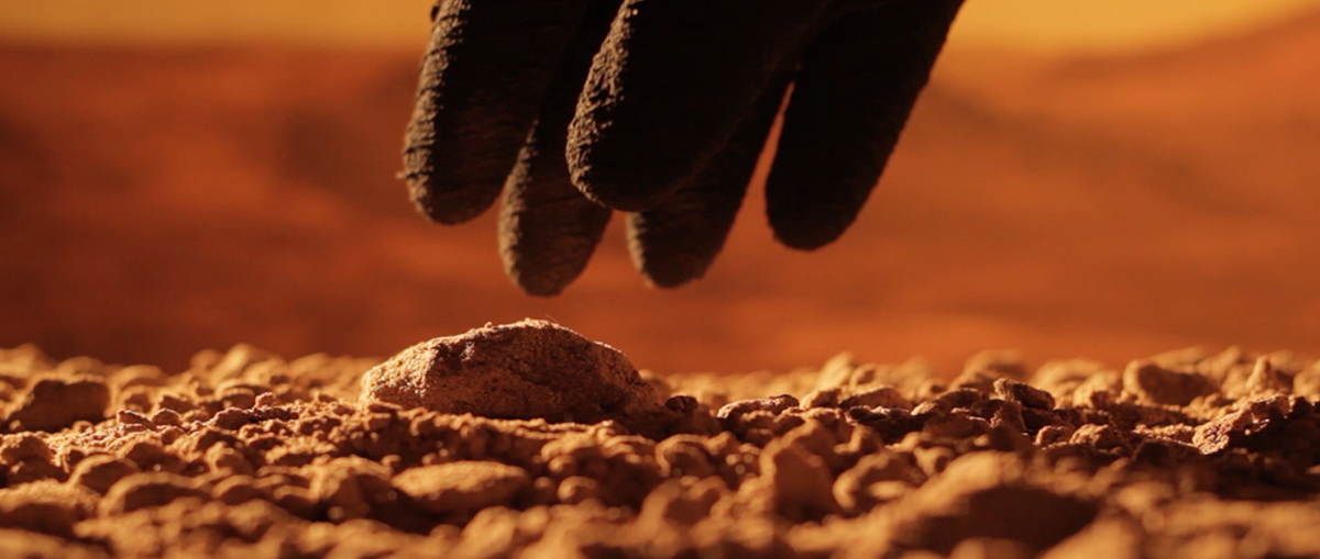 Photo: from The Martian Artist, prologue, Andy Robinson.